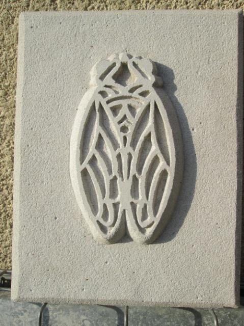 Ma cigale en sculpture 961375041
