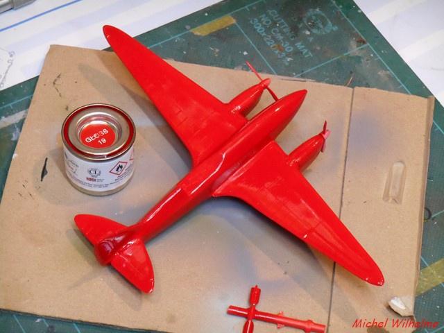 DE HAVILLAND D H88 kit Airfix 1959 962881DSCN9407Copier