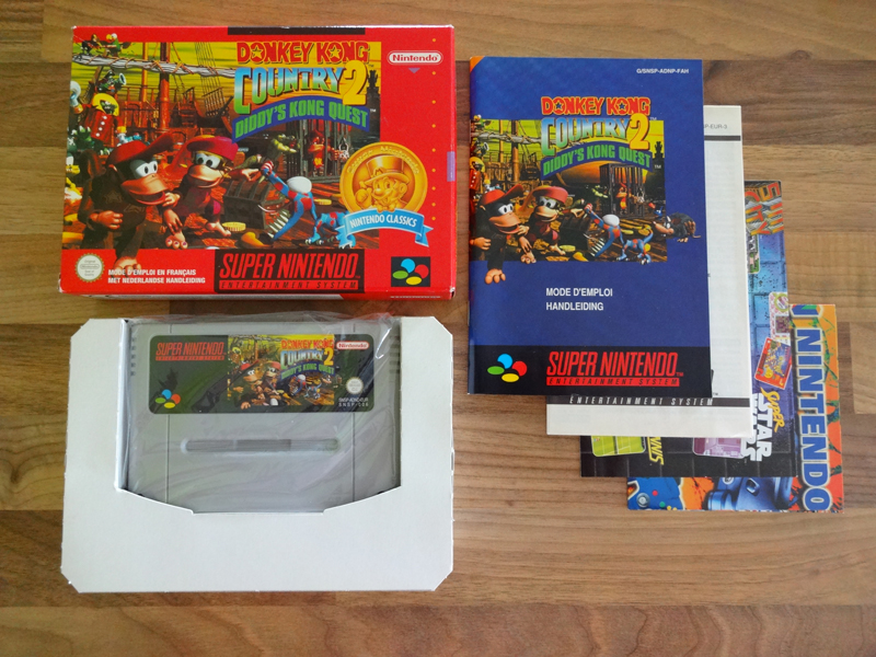 Prupru's Collection ! 100% Super Nintendo et 200% Super Comboy !! - Page 17 963114DonkeyKongCountry2DiddysKongQuestNFAH