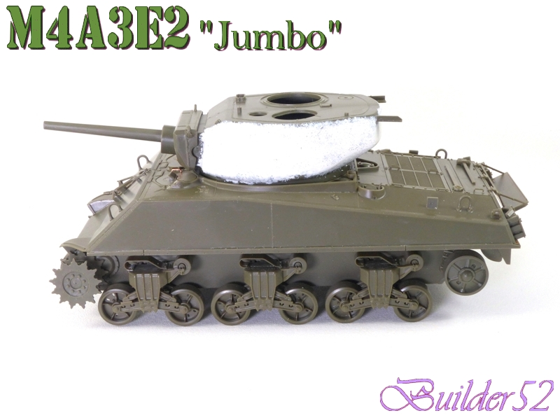 SHERMAN M4A3E2 JUMBO - TASCA 1/35 963129P1050215