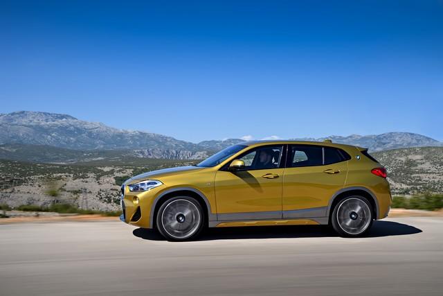 La nouvelle BMW X2 Silhouette élégante, dynamique exceptionnelle 965790P90278981highResthebrandnewbmwx2
