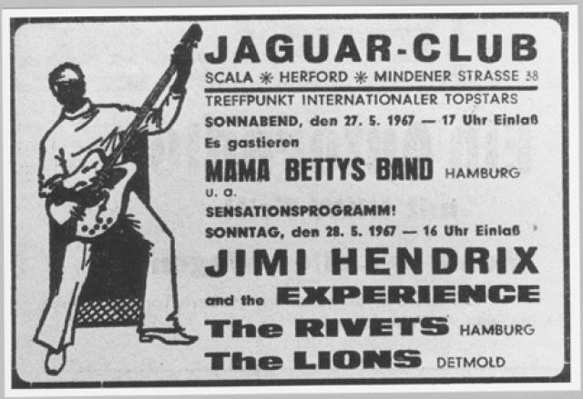Scala Herford Nordrhein-Westfalen (Jaguar Club) : 28 mai 1967 969482page3661001full