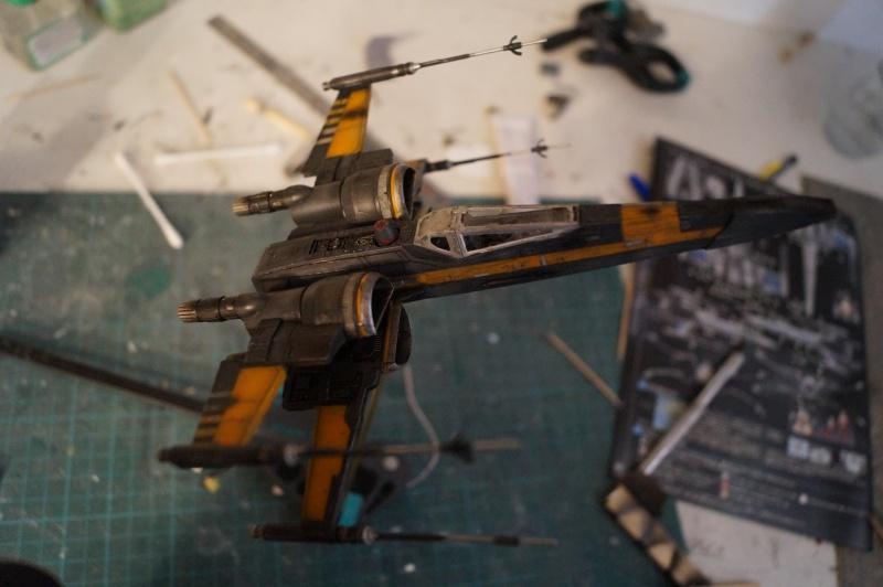 "X-Wing ""Resistance"" T-70 Bandaï 1/72 970284DSC01482"