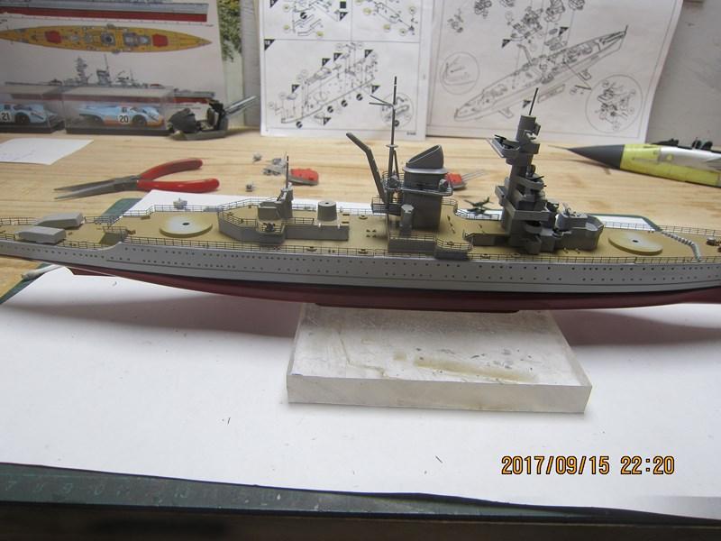 Admiral Scheer  Heller 1/400 Concours Heller 60 ans 970926IMG4862Copier