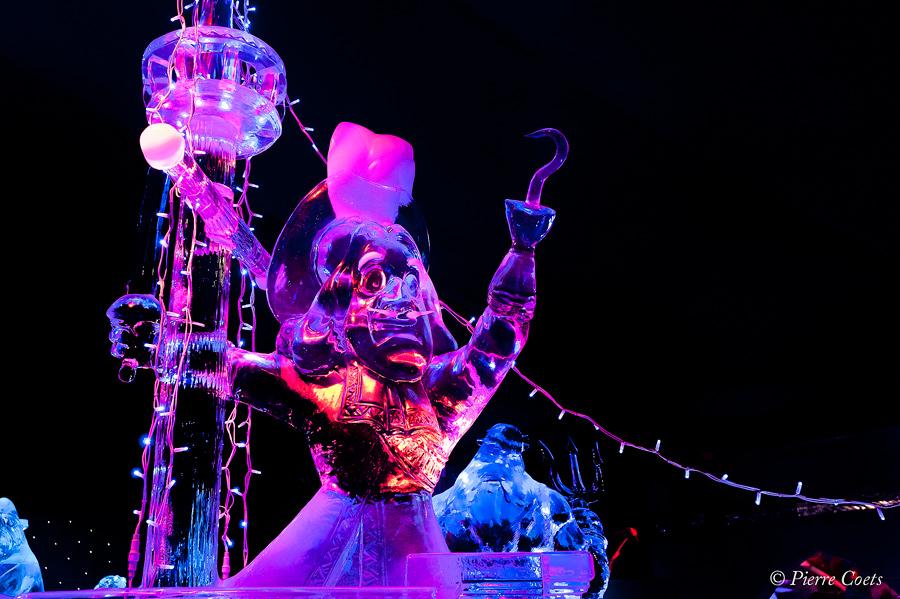 Sculpture sur glace à Bruges 971021PIE2542
