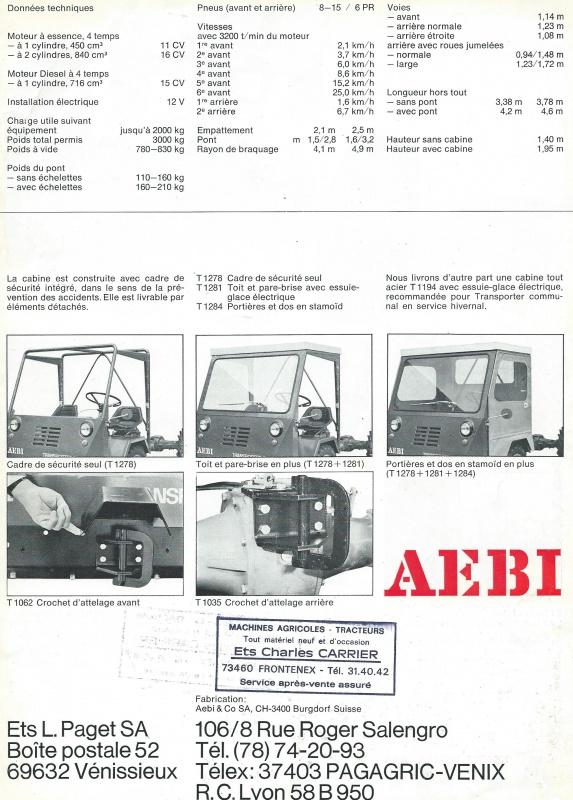 Aebi - AEBI IP 1000 A 974592AEBITP1000A004