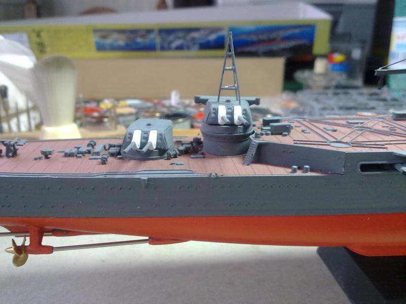 croiseur lourd Mogami au 1/350 par Pascal 94 - Tamiya  - Page 4 977612tourelles203jpg