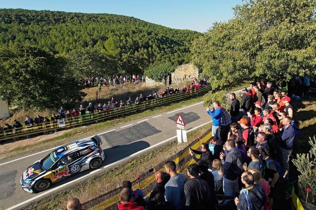 Rallye d'Espagne Jour 2 : Ogier/Ingrassia prennent la tête de la course  978029hd012016wrc11dr40456