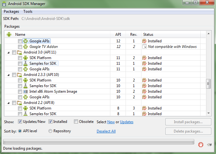 [TUTO] Comment installer le SDK Android [Package SDK Tools][28.11.2013] 978219sdkmanager