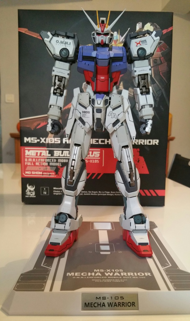 Review/Edito : Strike Gundam Metal Build 1/72 by Moshow la leçon Chinoise donnée a Bandai  978992201610061413401