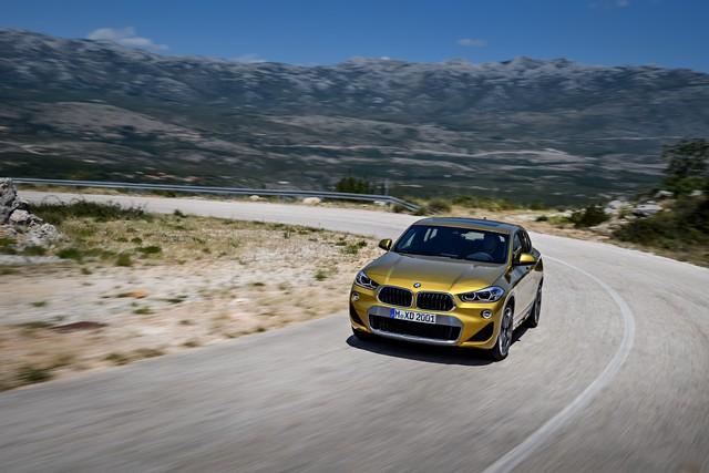 La nouvelle BMW X2 Silhouette élégante, dynamique exceptionnelle 979532P90278980highResthebrandnewbmwx2