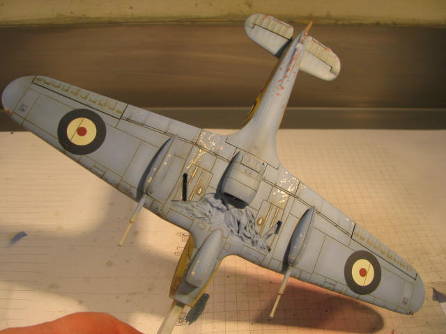 Hawker Hurricane Mk IId Trop 6 Sqn 1942 Hobbycraft 1/48.... Terminé! 979548IMG1135