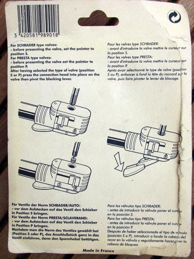 [Donnés] Raccords flexibles de pompe à pied Zefal  979592ZEFALraccord400verso