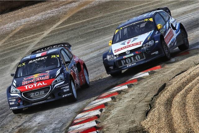 Rallycross - Les PEUGEOT 208 WRX dans l'arène de Barcelone. Olé !! 98154557cb0a4f03000
