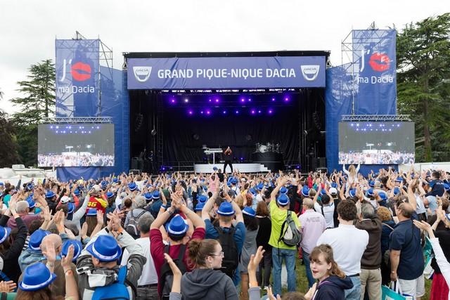 Le Grand Pique-Nique Dacia 2017 accueillera l'artiste Amir pour un grand concert gratuit 9860808871216