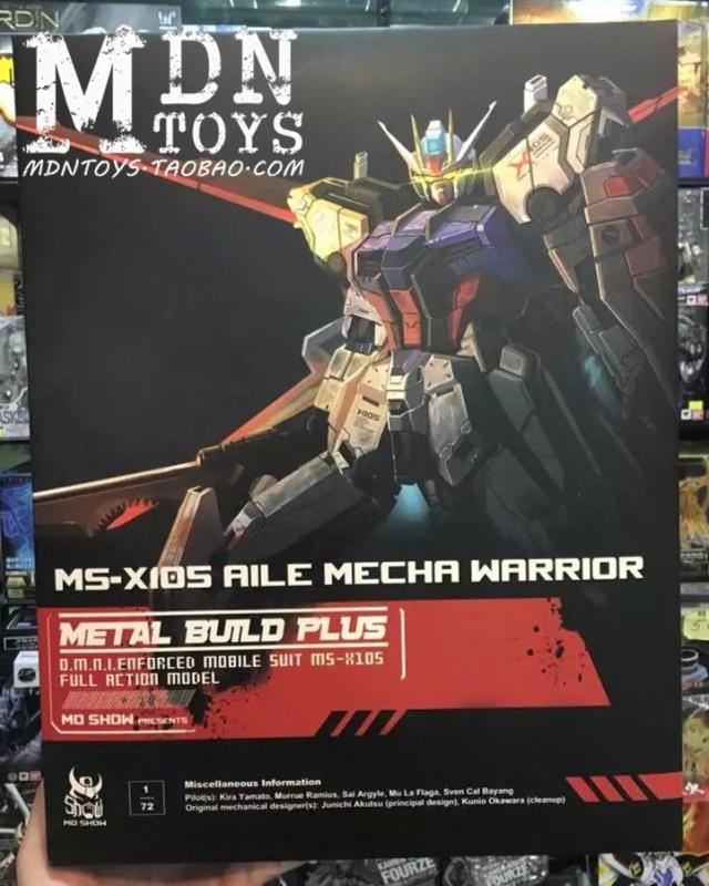 Review/Edito : Strike Gundam Metal Build 1/72 by Moshow la leçon Chinoise donnée a Bandai  986175MOSHOWmoshowmodelhotSelling172fontbMETALbfontfontbBUILD