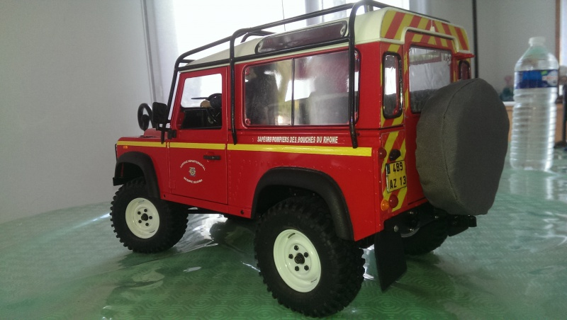 Defender 90 VLTT 'sapeurs pompiers des bouches du rhone - Page 5 988487IMAG21677