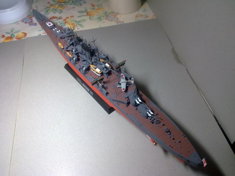 Croiseur lourd Mogami au 1/350 ème TAMIYA 988656190120111124