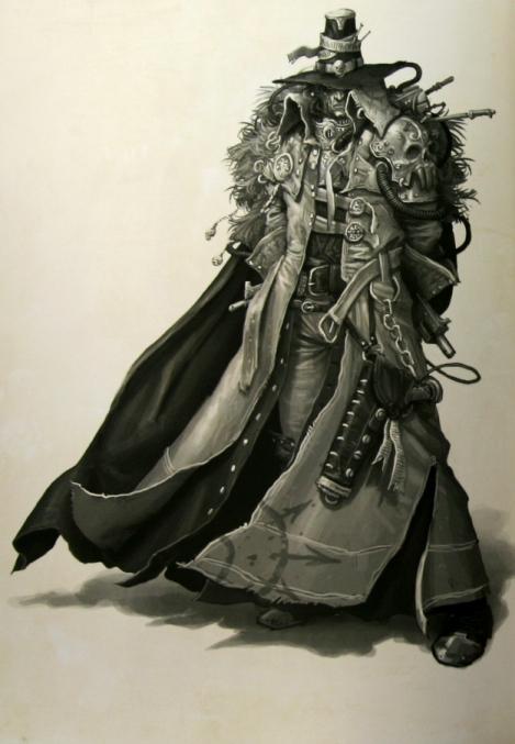 La Volonté de l'Empereur de John Blanche (Art Book) 991998emperorswillcloseup1