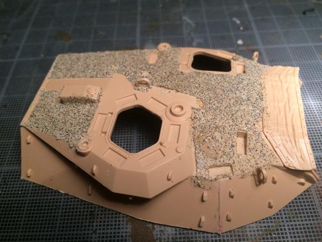 AMX 10 RCR SEPAR maquette Tiger Model 1/35 992703IMG3791