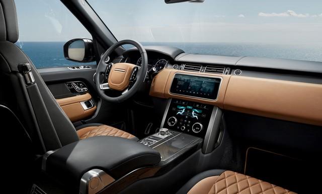 Le Nouveau Range Rover intègre dans sa gamme une motorisation essence hybride rechargeable 993420rrsvautobiographydynamicinterior1