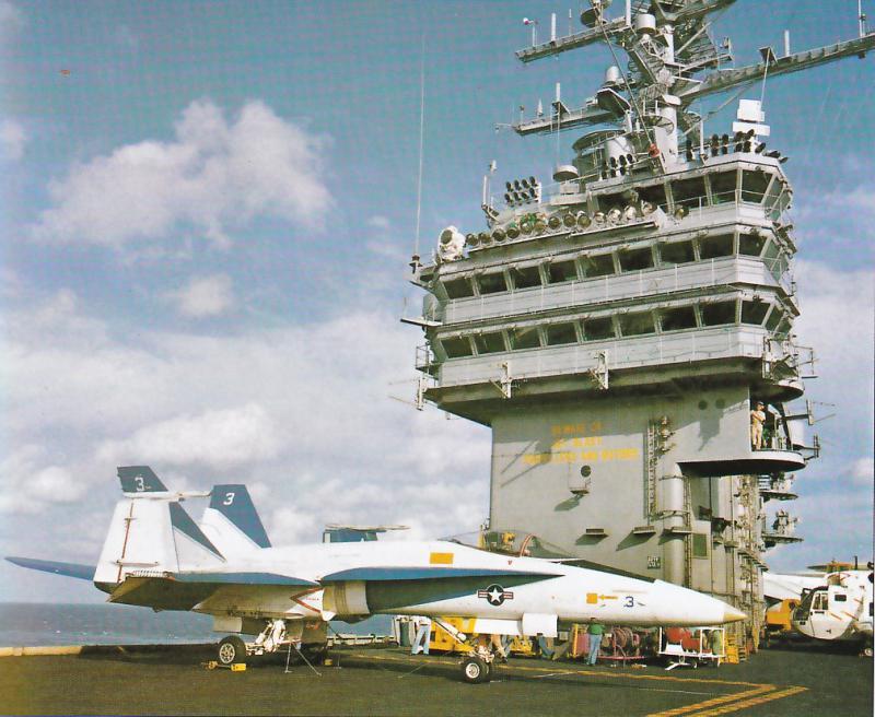 MCDONNELL-DOUGLAS F/A-18 HORNET  994456F_18A_Proto_3_USS_IKE