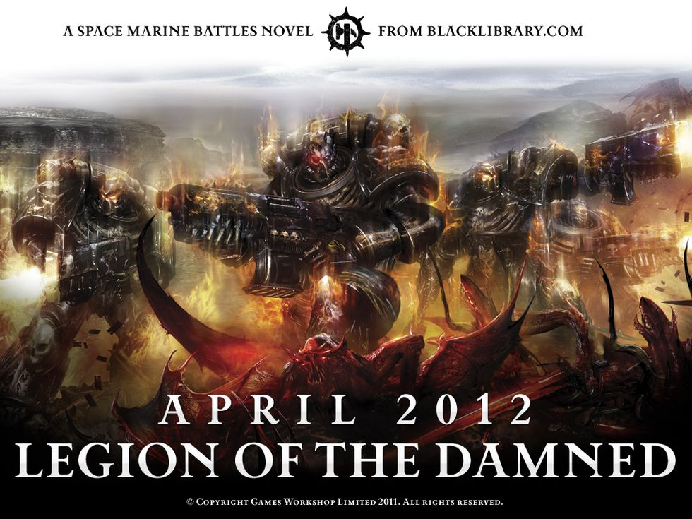 [Space Marine Battles] Legion of the Damned de Rob Sanders 996651legionofthedamned