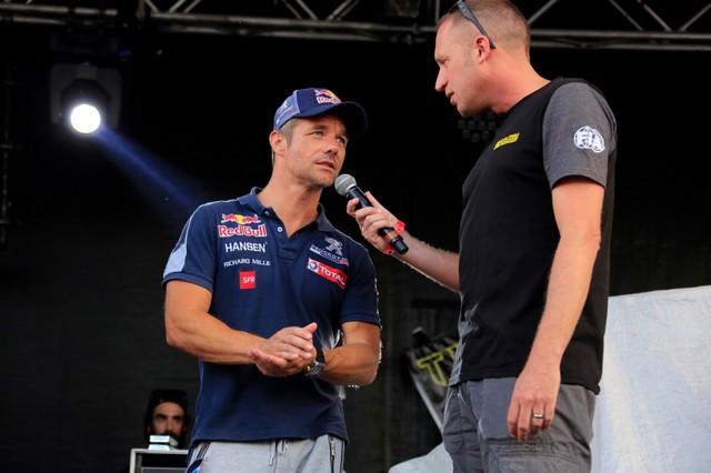 Troisième podium d'affilée pour Sébastien Loeb et la PEUGEOT 208 WRX, au Canada 99779859853ef1be386zoom