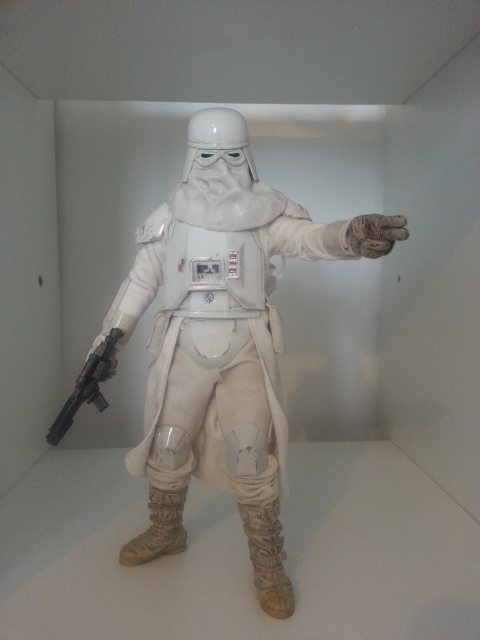 red360 review's : Star Wars Battle Of Hoth: Snowtrooper by Sideshow 99832220130426160129