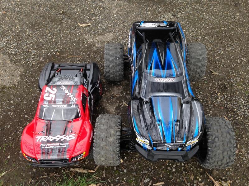 X-Maxx Comparaison taille avec d'autres modèles RC 998366IMG3053