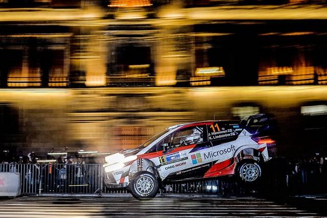 Les Équipages Toyota Gazoo Racing Marquent Des Points Au Mexique 998435car11haumlnninenlindstroumlm