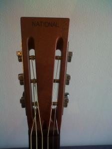 National Resophonic Singlecone Black 12 fret - VENDUE Mini_119332IMG00188201405211956