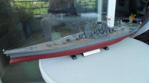 Cuirassé Yamato Tamiya 1/350 Mini_229093SAM0536