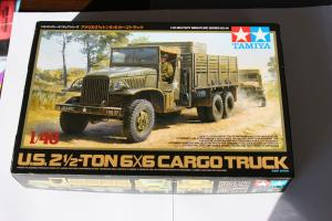 [U.S. 2 1/2-Ton 6*6 Cargo Truck] Tamiya 1/48è Mini_232611DPP1