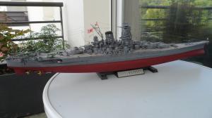 Cuirassé Yamato Tamiya 1/350 Mini_398761SAM0553