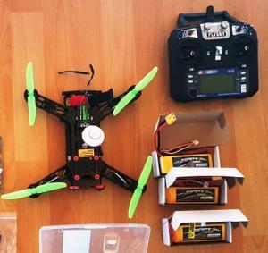 drone racer EACHINE 250 + radio FS-i6 Mini_48587320170813113103