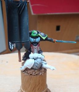Aztec Warrios porte bannière Mini_647592SM37