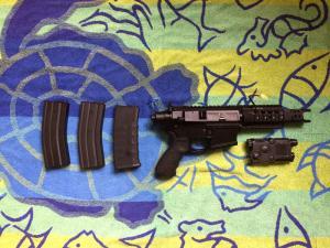 Mini M4 Stinger BW15 de chez King Arms Mini_675512bw15