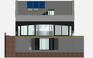 """Challenge thème : """"modélisation et rendu d'une maison atypique"""" - Silk37 & SB - ArchiCAD 17 - 3DS/V-Ray - Photoshop Mini_681098OLSHouseFaceSudvue1"""