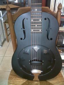 National Resophonic Singlecone Black 12 fret - VENDUE Mini_683525IMG00187201405211956