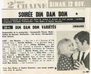 L'Experience à Paris et à la télé française : Entre le 9 et le 12 octobre 1967 Mini_695812691177dim121167jpgCopie