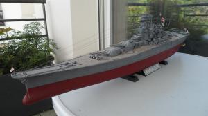 Cuirassé Yamato Tamiya 1/350 Mini_859741SAM0555