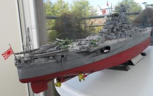 Cuirassé Yamato Tamiya 1/350 Mini_936069SAM0551