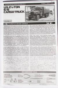 [U.S. 2 1/2-Ton 6*6 Cargo Truck] Tamiya 1/48è Mini_951475DPP8