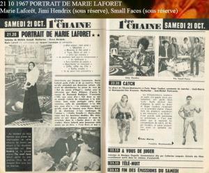 L'Experience à Paris et à la télé française : Entre le 9 et le 12 octobre 1967 Mini_986359MarieLafort