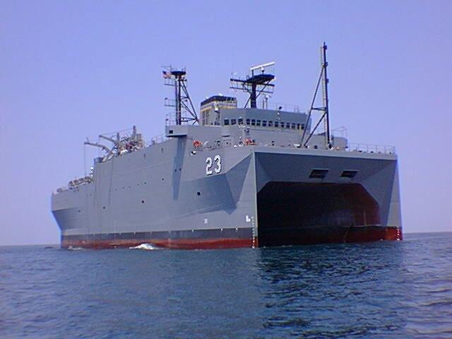 MILITARY SEALIFT COMMAND 168163USNS_Impeccable