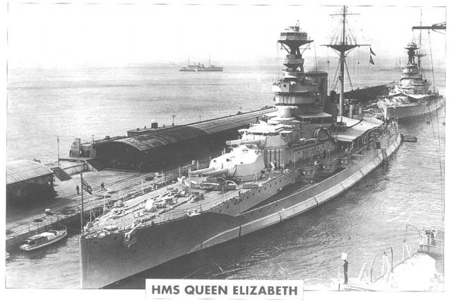 ROYAL NAVY CUIRASSES CLASSE REVENGE 229549HMS_Queen_Elizabeth