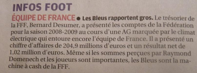 FFF FEDERATION  FRANCAISE DE FOOT !!!!!!!!!!!!! 246856P1030744