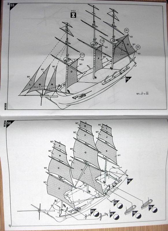 Frégate Belle Poule 1834 (Heller 1/200°) par Christophe 312683HPIM0531
