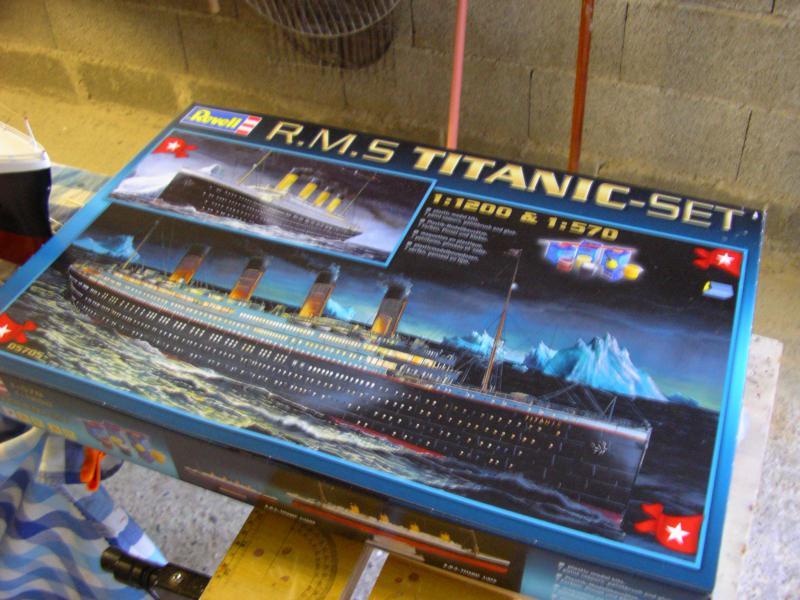 Le Titanic au 1/1200 et 1/570 360969IMGP1016